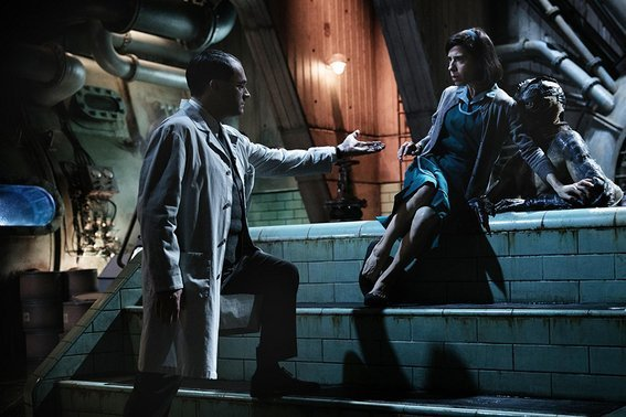 Shape of Water Elisa vestuario Guillermo del toro