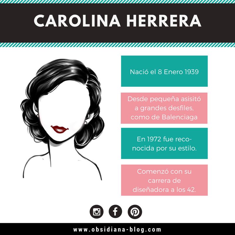 Carolina Herrera Biografía Estilo de Vida CH