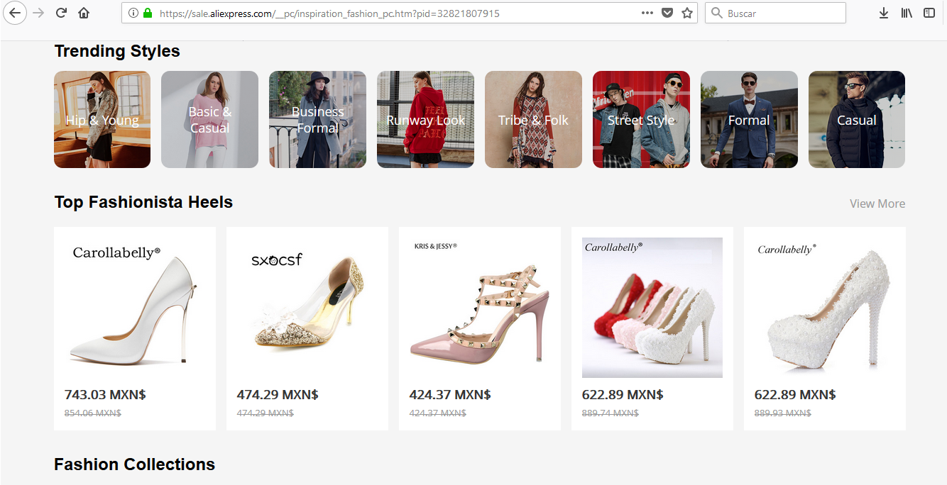 dropshipping moda negocio por cero pesos shopify aliexpress