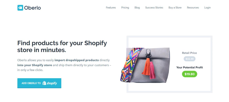 dropshipping moda negocio por cero pesos shopify aliexpress oberlo