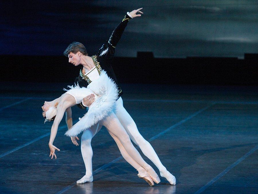 El lago de los cisnes Ballet Bolshoi de Bielorrusia México