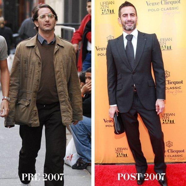 Marc Jacobs Biografía Antes y Después