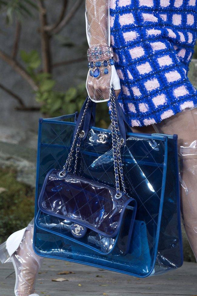 Tendencia 2018 primavera verano plastico chanel