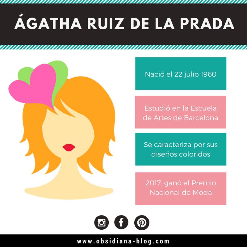 Agatha Ruiz de la Prada Biografía diseño de modas