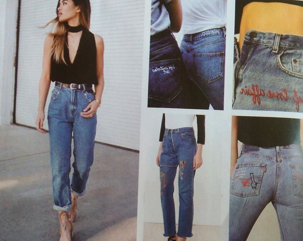 Tendencia 2018 jeans índigo