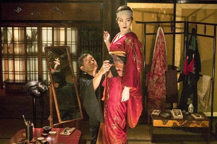 Memorias de una Geisha diseño de vestuario Collin Atwood