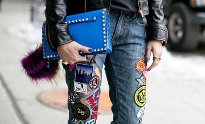 Tendencia moda Parches denim