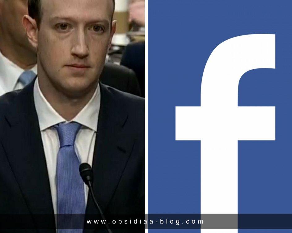 Blue Facebook Mark Suckerberg caso Facebook Diseño de Imagen