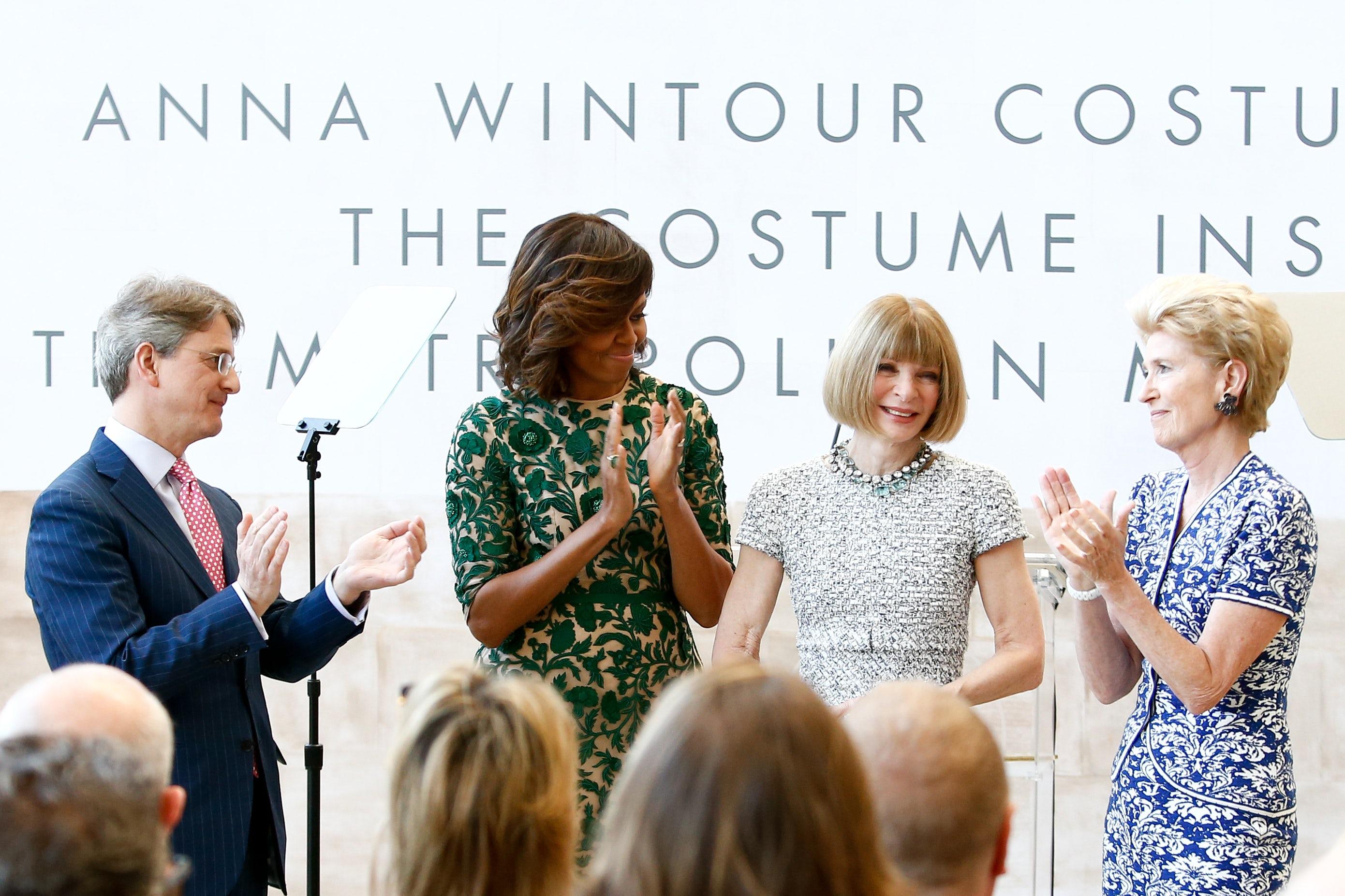 Anna Wintour deja VOGUE Michelle Obama