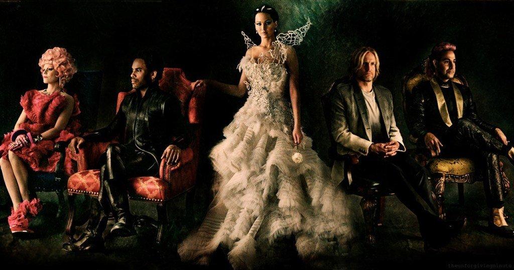 Hunger Games Catching Fire Los Juegos del Hambre En Llamas Trish Summerville Alexander McQueen