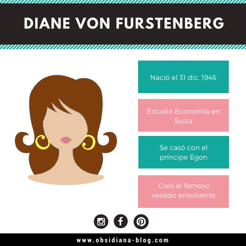 Diane von Furstenberg DvF wrap dress biografía bio
