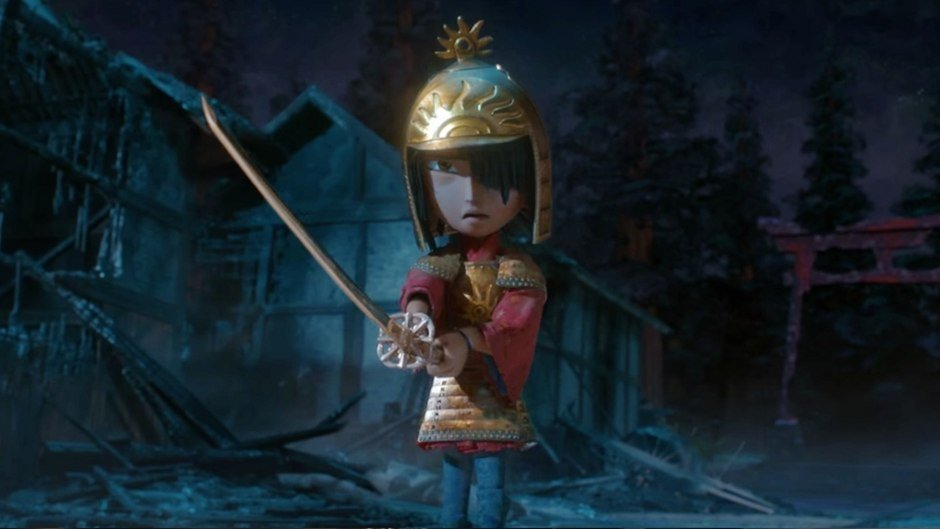 Kubo y la búsqueda samurai Kubo and the two strings diseño de vestuario deborah cook