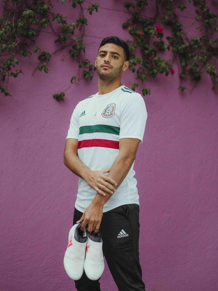 add6828438431 El uniforme de la Selección Mexicana como visitante en Rusia