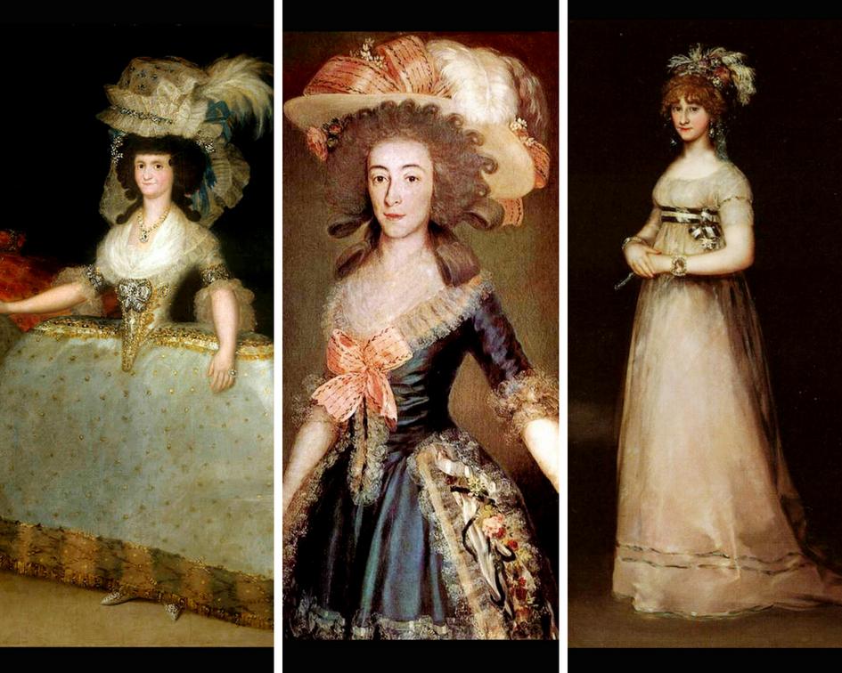 Francisco de Goya Inspiración Moda