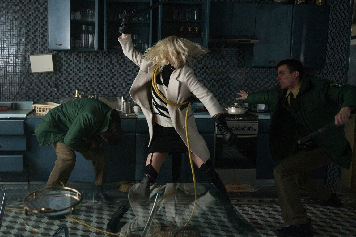 Atomic Blonde vestuario Cindy Evans