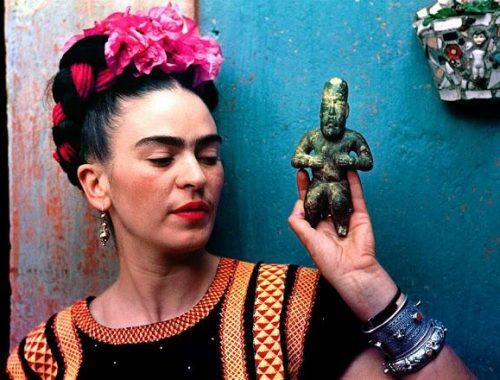 Frida Kahlo guardarropa vestimenta