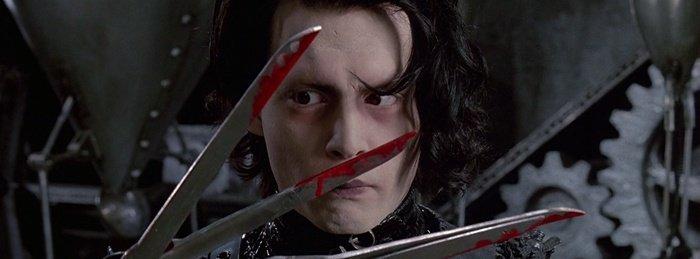 Edward Scissorshands El joven manos de tijeras Vestuario