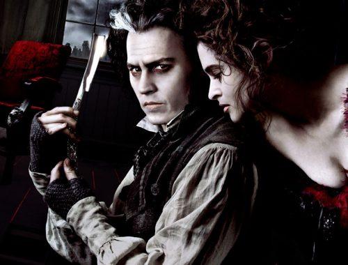 Sweeny Todd Tim Burton Collen Atwood Johnny Depp vestuario