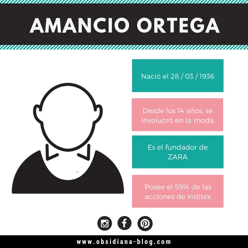 Amancio Ortega Biografia