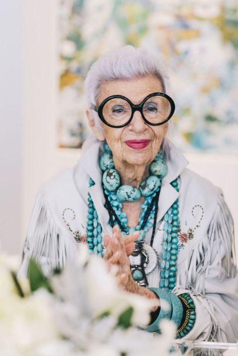 Iris Apfel Biografia Curiosidades