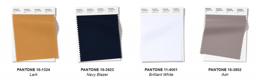 Colores de 2020 en la moda por Pantone