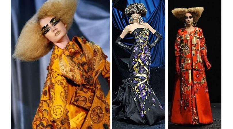 moda inspirada en arte dior john galliano