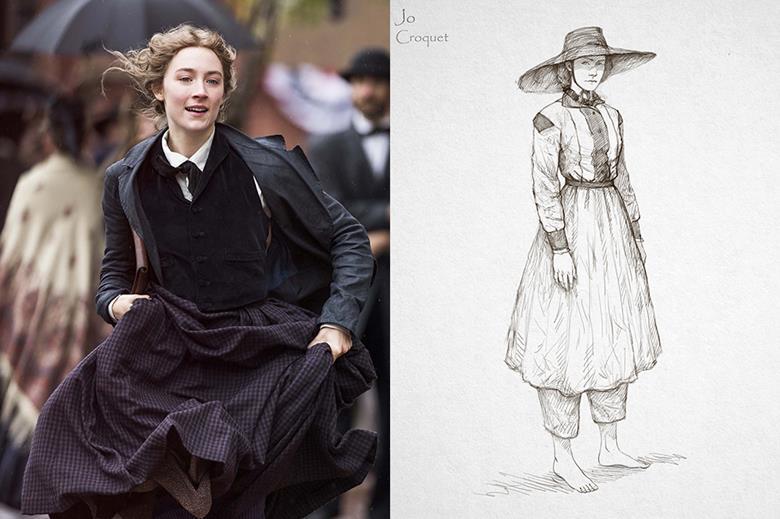 Mujercitas Diseño de Vestuario Jacquelin Durran